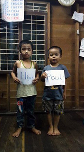Elijah and Paul of Myanmar